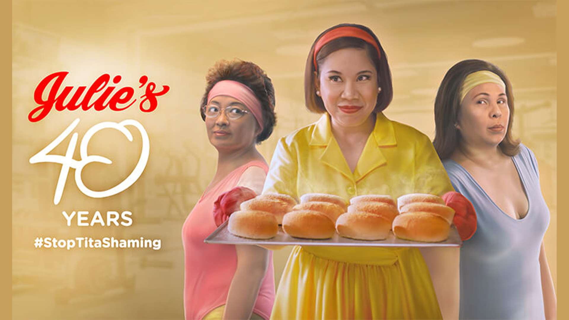 The latest Julie's Bakeshop ad by GIGIL issues a call-to-action- No to Tita shaming